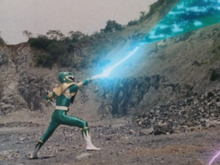 Evil Green Sword of Dark VS Megazord