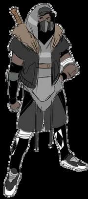 TMNT Black Ninja Ranger
