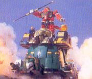 MMPR Thunder Ultrazord