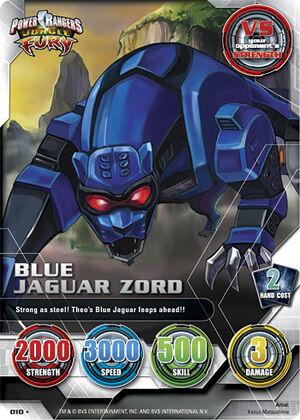 Blue Jaguar Zord (010) | PRACG Wiki | FANDOM powered by Wikia