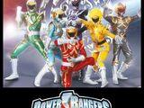 Power Rangers Shaolin