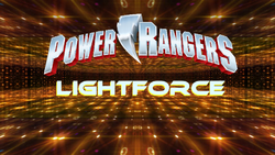 Power Rangers LightForce Logo New