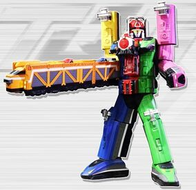 Train Wrecker Megazord
