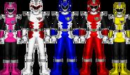 Paleo Fighter team