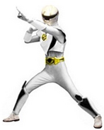 White Lightning Mask Ranger