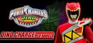 Dino Charge Red Ranger wallpaper