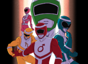 Power Rangers Planet Savior (TheGodlyWaffles)