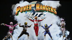 Power rangers blitz charge poster by bilico86-d997jmd