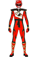 Super Shaolin Fury Red Ranger