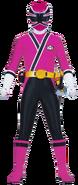 Male Pink Samurai Ranger
