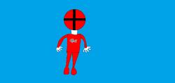 Red Aqua-Force Ranger