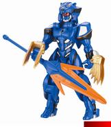 Jungle Fury Armor Blue