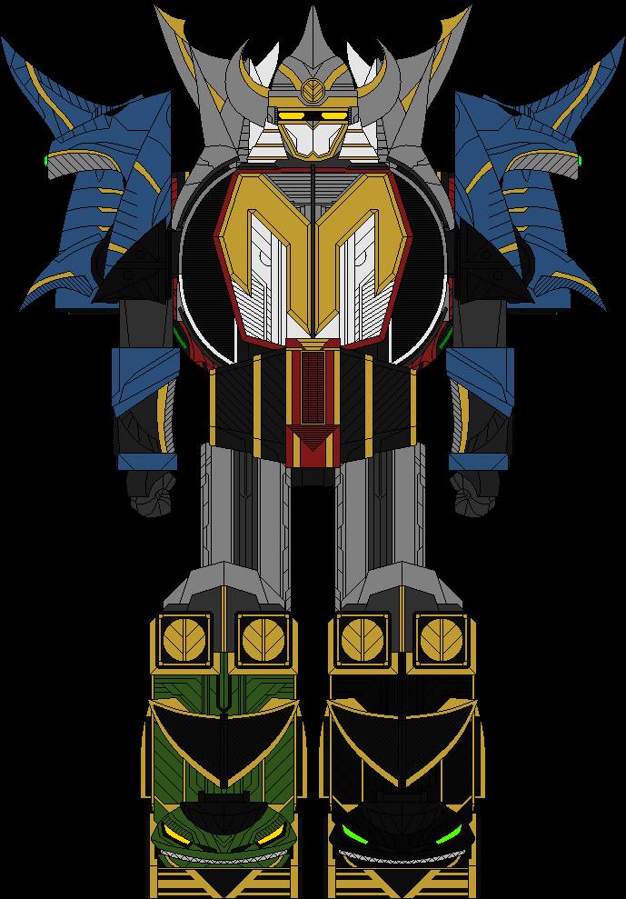 Dino Guardian MegaZord   Power Rangers Fanon Wiki   Fandom