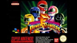 AREA 2 Mighty Morphin Power Rangers Super Nintendo METAL COVER REMIX