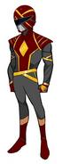 Crimson Omega Ranger