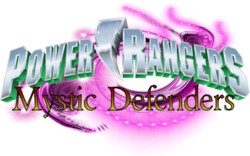 Power Rangers Mystic Defenders logo