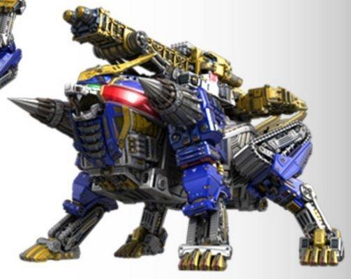 BLUE LION ZORD | Power Rangers Fanon Wiki | Fandom