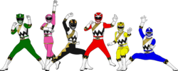 Power Rangers Wild Avengers