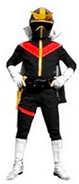 Black Battle Star Ranger