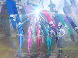 Power Rangers Jura Knights