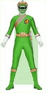 Green Wild Force Ranger