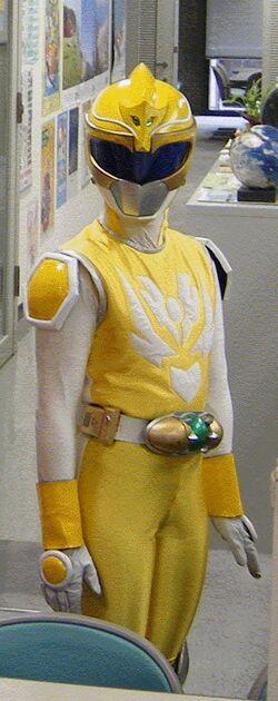 DragonVersa Yellow Ranger