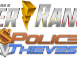 Power Rangers Police Thieves