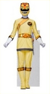 Gold Wild Force Ranger