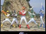 Power Rangers Animal Squad (Greencosmos)