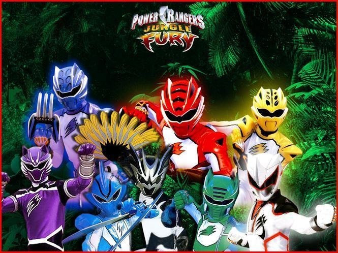 Power Rangers Jungle Fury (Fanon Version)