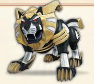 7. Gold Lion Zord