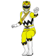 Yellow tiger ranger by iyuuga-d9h87vr
