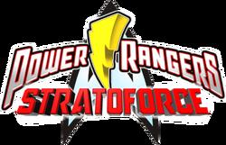 Power Rangers Stratoforce logo
