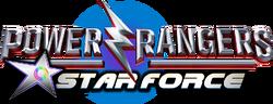 Power Rangers Star Force logo