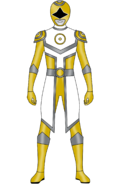 Gold Sun Planet Ranger 2