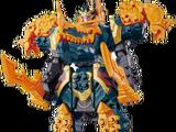 Dino King Megazord