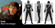 Eric the Black Ranger