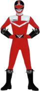 Time Force Red Neo Shadaloo Ranger