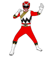Red hawk ranger by iyuuga-d9h87vk