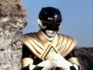 Black Ranger with Dragon Shield