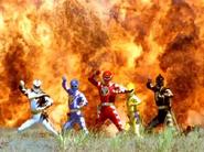 Dino Thunder Rangers