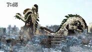 Xeno-Godzilla Rampages