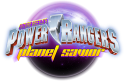 Power Rangers Planet Savior logo