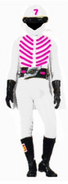 White Battle Star Ranger