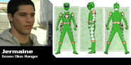 Jermaine the Green Dino Thunder Ranger