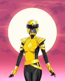 Omega Yellow Ranger