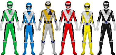 Power Rangers Astro Blast by taiko554