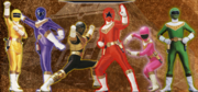 Power rangers zeo team2
