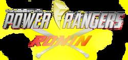 Future Beetle's Power Rangers Ronin Logo