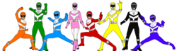 Power Rangers Planet Savior (First 8 Rangers)